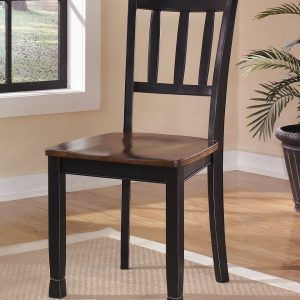 Owingsville - Black/Brown - Dining Room Side Chair each (2/CN)