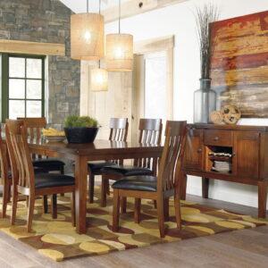 Ralene - Medium Brown - Dining Room Server 1