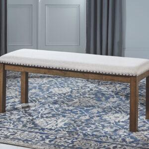 Moriville - Beige - Upholstered Bench