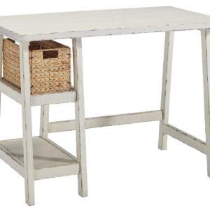 Mirimyn - Antique White - Home Office Small Desk 1