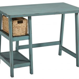 Mirimyn - Teal - Home Office Small Desk 1