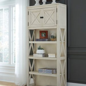 Bolanburg - Two-tone - 2 Large Bookcases 1