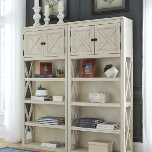 Bolanburg - Two-tone - 2 Large Bookcases