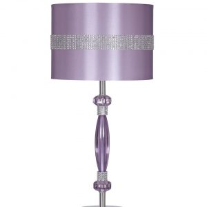 Nyssa - Purple - Metal Table Lamp (1/CN)