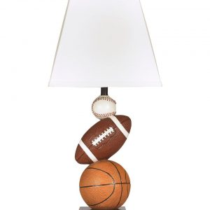 Nyx - Brown/Orange - Poly Table Lamp (1/CN)