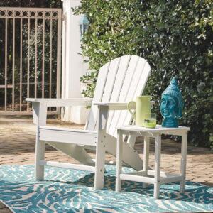 Sundown Treasure - White - Adirondack Chair 1