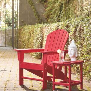 Sundown Treasure - Red - Adirondack Chair 1