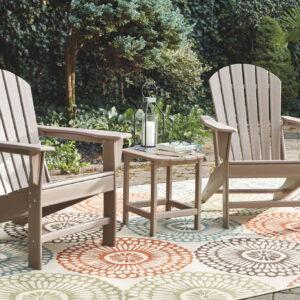 Sundown Treasure - Grayish Brown - Adirondack Chair 1