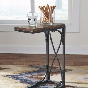 Golander - Medium Brown - Chair Side End Table