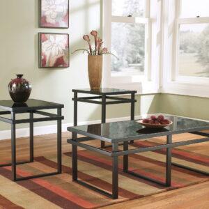Laney - Black - Occasional Table Set (3/CN)