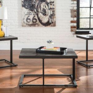 Airdon - Bronze Finish - Occasional Table Set (3/CN)