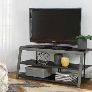 Rollynx - Black - TV Stand