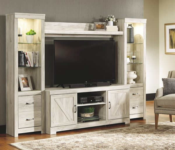 Bellaby - Whitewash - Entertainment Center - LG TV Stand