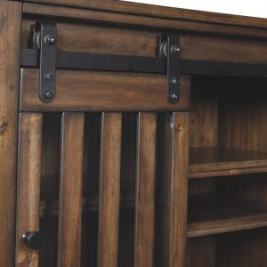 Brookport - Brown - Accent Cabinet Detail