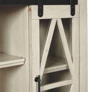 Bronfield - White - Accent Cabinet 1