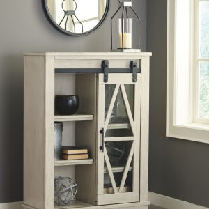 Bronfield - White - Accent Cabinet