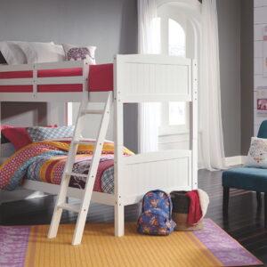 Kaslyn - White - Twin/Twin Bunk Bed