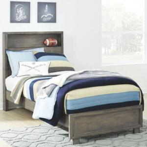 Arnett - Gray - Full Storage Bed