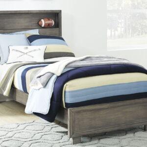 Arnett - Gray - Twin Storage Bed