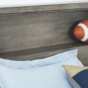 Arnett - Gray - Full Storage Bed 1
