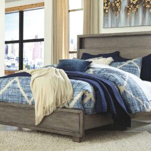 Arnett - Gray - King Storage Bed