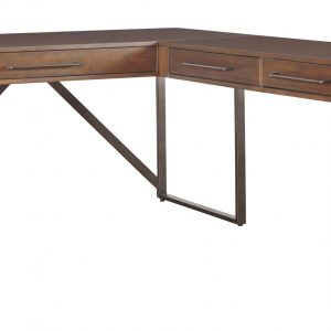 Starmore - Brown - Home Office L Shaped Desk