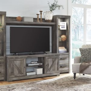 Wynnlow - Gray - Entertainment Center - LG TV Stand