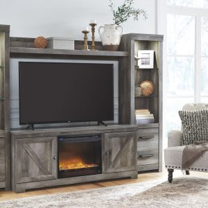 Wynnlow - Gray - LG TV Stand