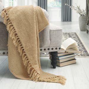 Rowena - Almond - Throw (3/CS) 1