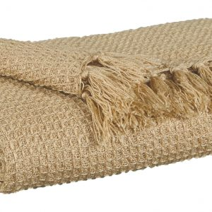 Rowena - Almond - Throw (3/CS)