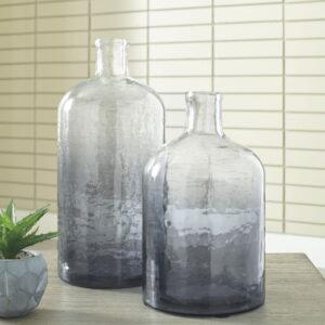 Maleah - Navy - Vase Set (2/CN)
