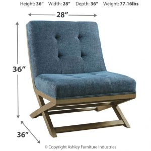 Sidewinder - Blue - Accent Chair 1