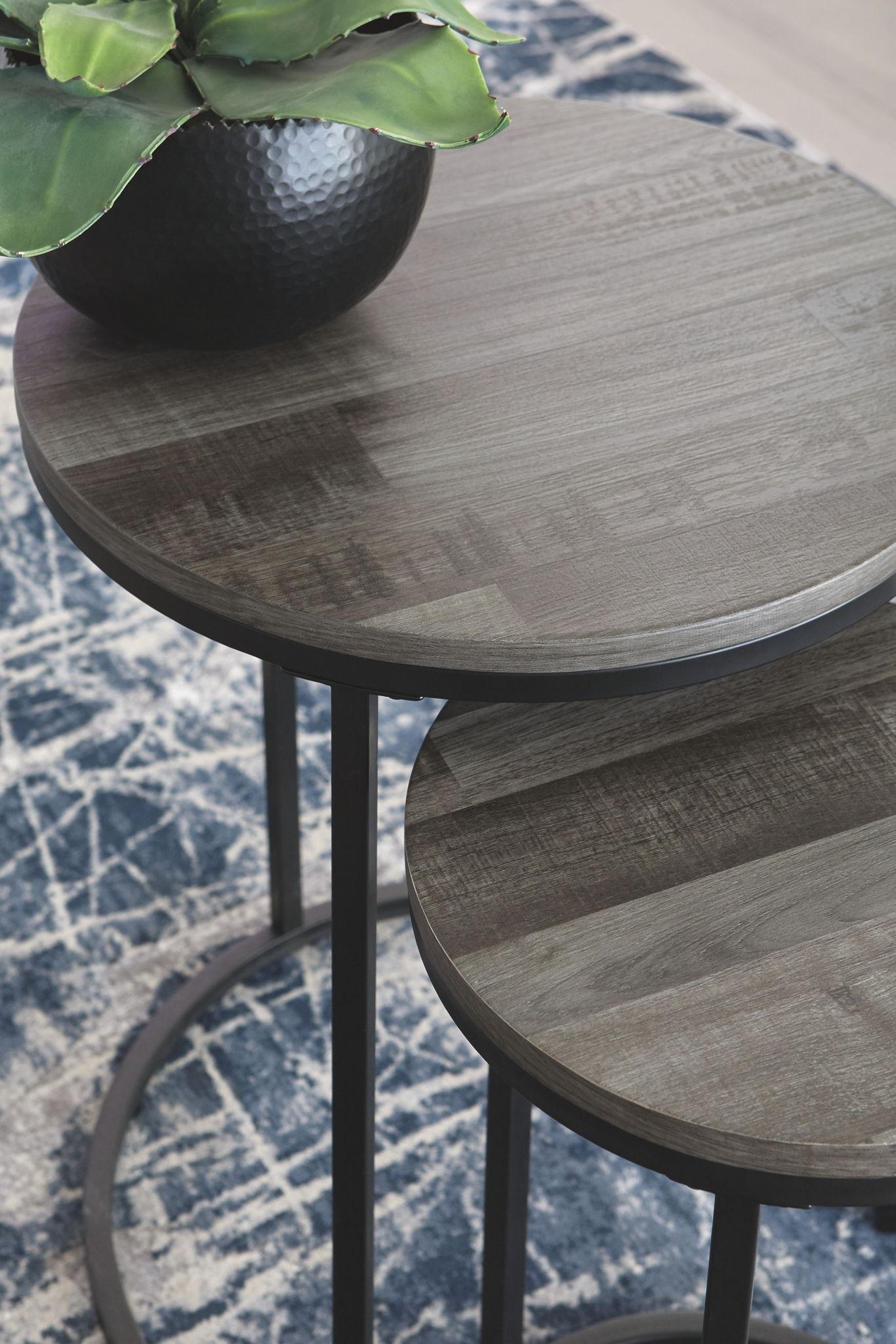 - Briarsboro - Black/Gray - Accent Table Set Furniture Warehouse Ohio