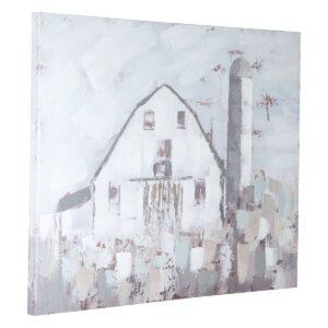 Jumana - Blue/Gray/White - Wall Art 1