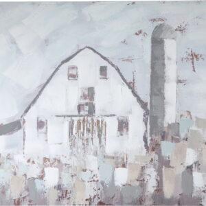 Jumana - Blue/Gray/White - Wall Art