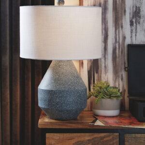 Kristeva - Blue - Metal Table Lamp (1/CN)