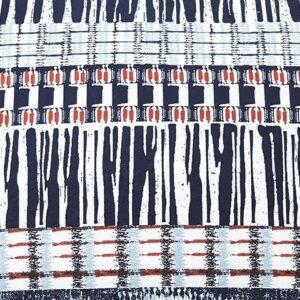 Shilliam - Navy/Rust - King Comforter Set 1