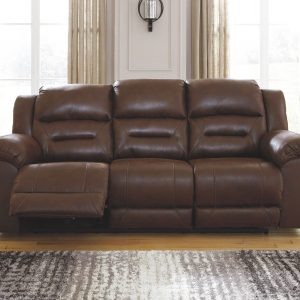 Stoneland - Chocolate - Reclining Power Sofa 1