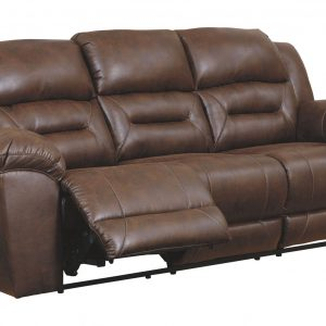 Stoneland - Chocolate - Reclining Sofa