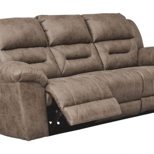 Stoneland - Fossil - Reclining Power Sofa