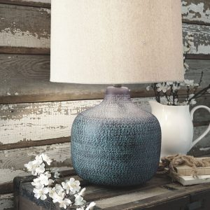 Malthace - Patina - Metal Table Lamp (1/CN)
