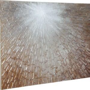 Elaina - Gray/White/Brown - Wall Art 1
