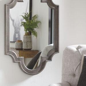 Williamette - Antique Gray - Accent Mirror
