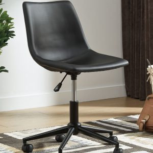 Office Chair Program - Black - Home Office Swivel Desk Chair 1