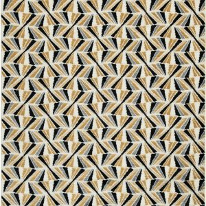 Jaela - Black/Gold/White - Medium Rug