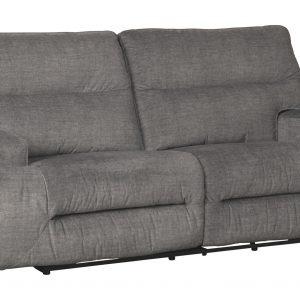 Coombs - Charcoal - 2 Seat Reclining Sofa