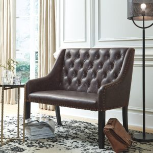 Carondelet - Brown - Accent Bench
