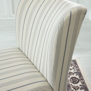 Triptis - Cream/Blue - Accent Chair 1