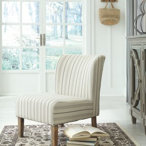 Triptis - Cream/Blue - Accent Chair