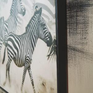 Breeda - Black/White - Wall Art 1